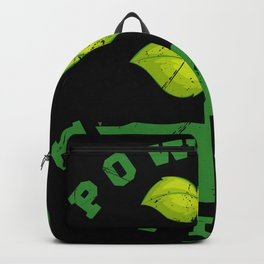 Powered By Plants Vegan Gift Backpack
