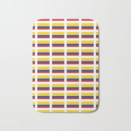 Flag of Colombia 2 -Colombian,Bogota,Medellin,Marquez,america,south america,tropical,latine america Bath Mat