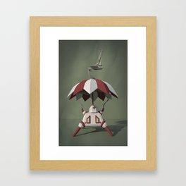 Brella-Bot Nurse Framed Art Print