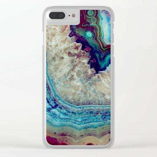 Agate Clear iPhone Case