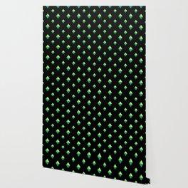 Emerald Diamonds Wallpaper