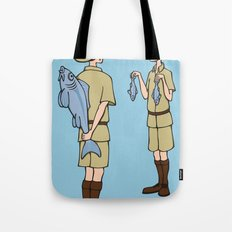 Fish Slapping Dance Tote Bag