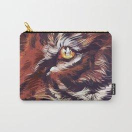 Tiger Fleur de Lis Carry-All Pouch