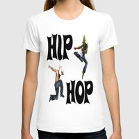 hip hop T-shirts featuring Hip Hop by ezmaya