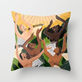 And then we saw the sun Throw Pillow