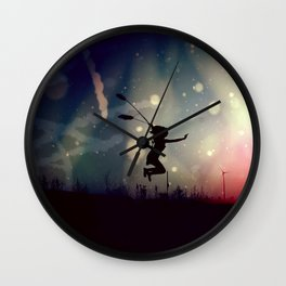 a wonderful thought Wall Clock