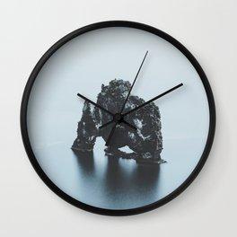 Hvitserkur, Iceland Wall Clock