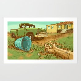 Jack & Jill Art Print