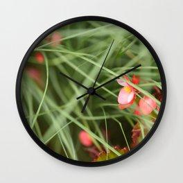 Flowers London 3 Wall Clock