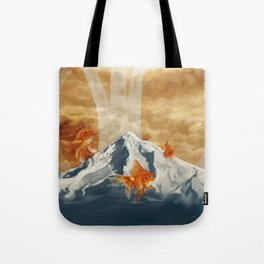 The Fish of Mt Hood Tote Bag