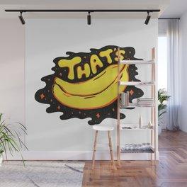 That's Bananas Wall Mural