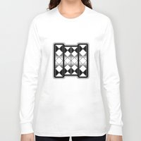 triangles Long Sleeve T-shirts featuring Triangles by VanessaGF