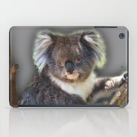koala iPad Cases featuring Koala by SwanniePhotoArt