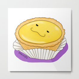 The yellow egg tart Metal Print