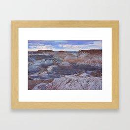 Nature Painted Desert Framed Art Print