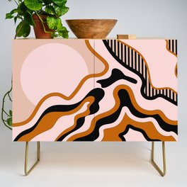 Beautiful Journey - Caramel and Cream Credenza