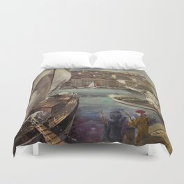 Pirates and Ninjas Duvet Cover