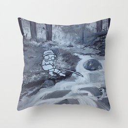 Peaceful Perseverance Throw Pillow