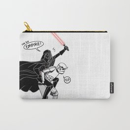 Darth Vader: Jedi Knight in Shining Armor [Black and White] Carry-All Pouch