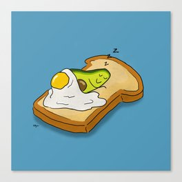 Avocado Dreams Canvas Print