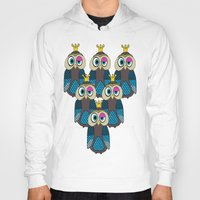 minions Hoodies featuring Owl Minions  by Gabriel J Galvan