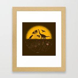Fossil Fuel Framed Art Print