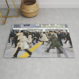 Japanese Hustle and Bustle Rug