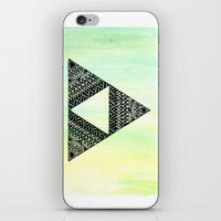 triforce iPhone & iPod Skins featuring Triforce by Leonnie's Art
