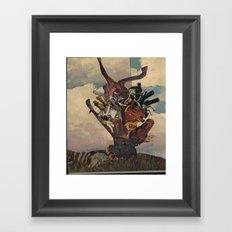 The Gallows Tree Framed Art Print