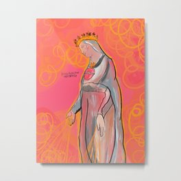 Our Lady of Lebanon Metal Print