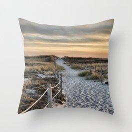 late day light... Throw Pillow
