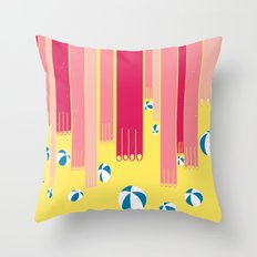 I can bowl a ball, many times in a row. Throw Pillow