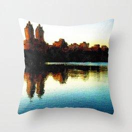 San Remo NYC New York Throw Pillow