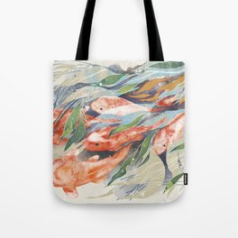 in the waterweeds Tote Bag