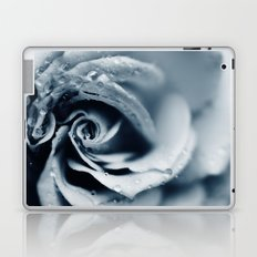 Rose - powder blue Laptop & iPad Skin