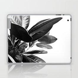 Grandiflora II - bw Laptop & iPad Skin