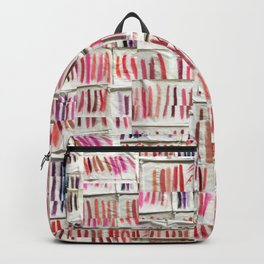 Lipstick Swatches Backpack