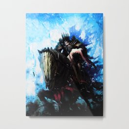 The Witcher: Eredin, the Abduction of Yennefer Metal Print