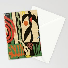 Inspired to Matisse (vintage) Stationery Cards