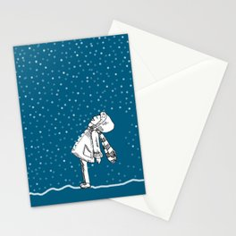 Snoweater Stationery Cards