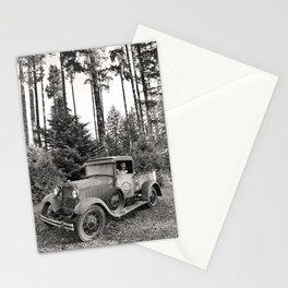 Buck Nasty's Moonshine Model A Ford Vintage Truck Skeleton Stationery Cards