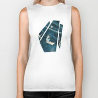 origami Biker Tanks featuring My Favourite Swing Ride by Paula Belle Flores