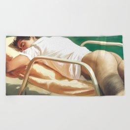Sunbathing Beach Towel