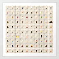 Minimalist Pop Culture poster 101-200 Art Print