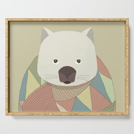 Whimsical Wombat Serving Tray