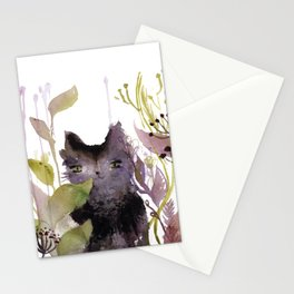 Adder in the Garden Stationery Cards