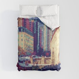 Minneapolis Starry Night Comforters