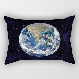 The Earth Rectangular Pillow