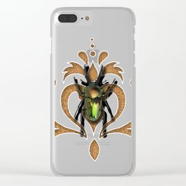 ELECTRIC BEETLE Clear iPhone Case