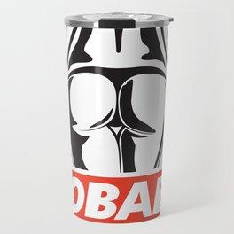 OBAE the booty. Travel Mug